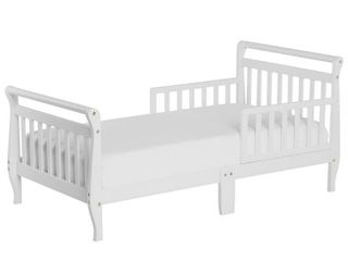Dream On Me Classic Sleigh Toddler Bed  White