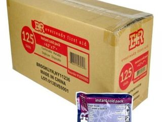 Ever Ready First Instant Cold Pack  4 5x7  approx 125 count