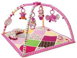Infantino Sweet Safari Twist and Fold Activity Gym and Play Mat