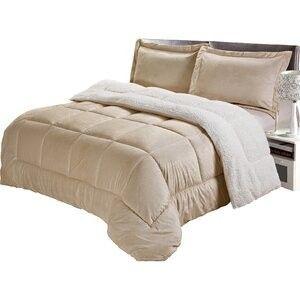 Queen Brown tan Comforter set