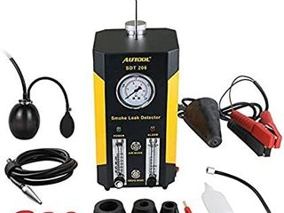 AUTOOl SDT 206 Automotive EVAP leaks Testing Machine  12V Vehicle Pipes Fuel leakage Detector Diagnositc Tester for Car Motorcycles Boat