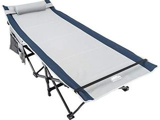 Coastrail Outdoor Camping Cot for Adults Support 450lbs