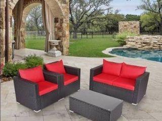Not all pieces Kinbor 4 piece outdoor patio furniture