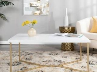 Silver Orchid Modern Ispen Coffee Table