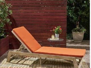 Nova Acacia Rust Orange Chaise lounge Cushion