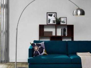Sunflower Round Marble Base Floor lamp  Base only