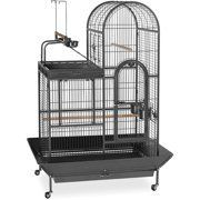 Prevue Pet Products Deluxe Parrot Play Top Birdcage  Black Hammertone incomplete box 1 of 2