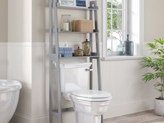 RiverRidge Amery Collection   ladder Spacesaver   Gray