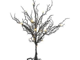 22  Halloween Tree with lights