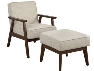 Simple living Sonia Ottoman   Ottoman only