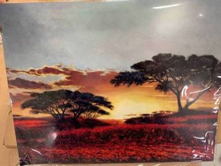 Noir Gallery Nature Painting Metal Wall Art Print Retail 97 99