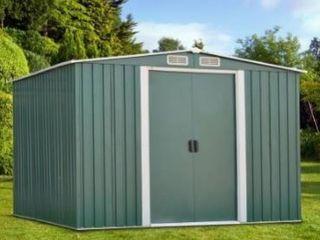 BOX 1 3  Kinbor 8  x 6  Outdoor Garden Storage Shed BOX 1 3  Tool House Backyard lawn Building Garage