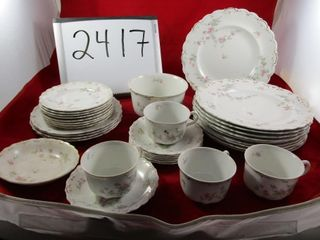 J  G  Meakin partial set of dinnerware