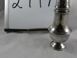 Sterling Sugar shaker hallmarked 143 13 grams
