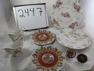 Porcelain lot  sauce dishes  limoges  Bavaria