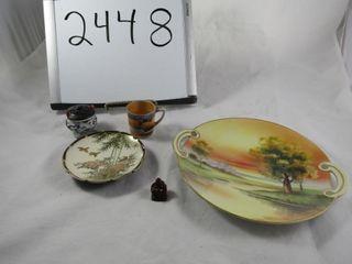 Oriental lot  platse Budba  demi tasee  incense