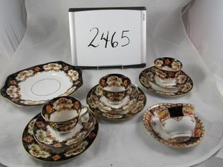 Royal Albert Cake plate  3 Bread and Butter  3 cup