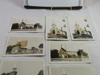 lost village post cards of the churches