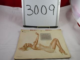 1947 Esquire pin up calendar