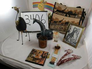 Giraffe lot    Africa animals  tote  light switch