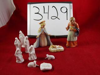 Goebel Nativity Set   another nativity set