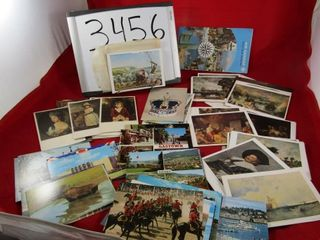 Group of vintage new postcards