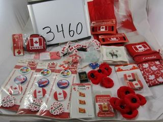 Canada  Plastic bags  cup sleeves  key chain