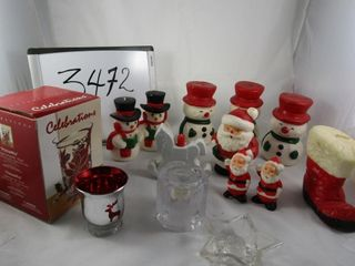 Christmas Candles  Candle holders
