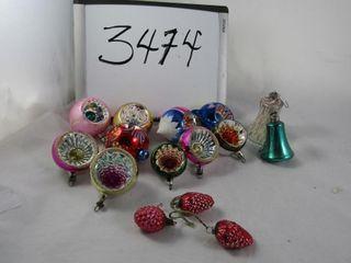 Vintage glass Christmas balls