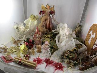 Wreath  Angel  decorations  precious moments