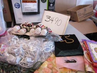 Christmas lights  replacement bulbs  gift bags