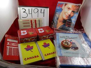 Canada memorabili  mini lunch boxes Julie Payette