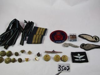 RCAF buttons  TCA buttons  badges and bars
