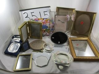 Assortment of Picture Frames   Mirrors