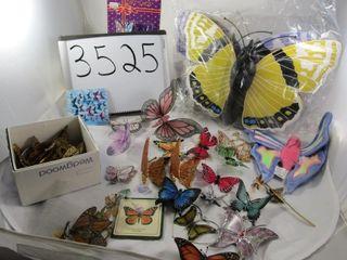 Butterfles  box of wings  sun catchers  stickers