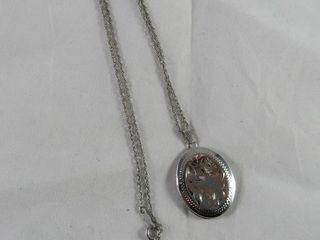 Sterling locket 5 48 grams