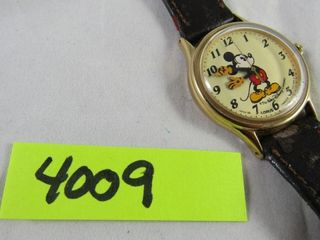 Mickey Mouse watch by lorus