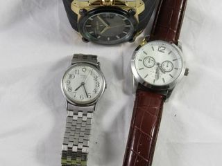 Mens watch Gruen  Timex and one unmarked