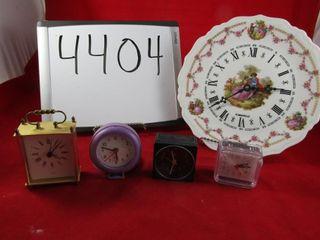 Caravelle wall clock  Carriage clock   Braun