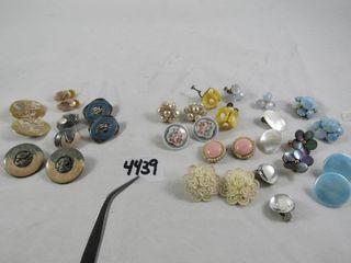 Vintage Fashion Jewellery  Earrings
