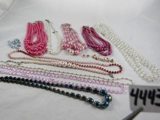 Fashion Jewellery  Pink Necklaces   Earrings