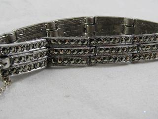 Fashion Jewellery  1 Marcasite Bracelet