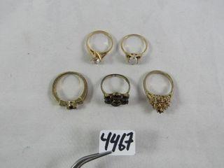 5 fashion rings