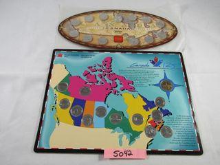 1999 Millennium Canada quarter set