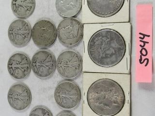 3  silver US dollars 1886  1889  1992 plus