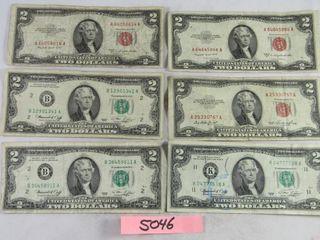 5  US  2 00 bills