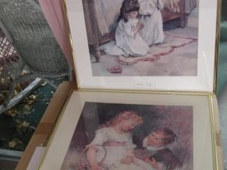 Children s prayers  Sweethearts framed prints