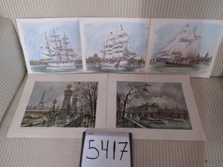 Group of prints  Ben Babelowsky 3