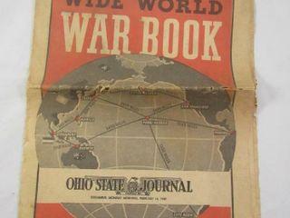 Wide World War Book 1942 Ohio State journal