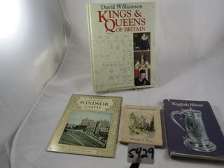 Group of books  Kings   Queens of Britain